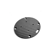 High quality professional production Carbon fiber circle plate