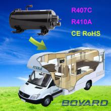 Hot promo! truck roof air conditioner accessories horizontal automotive aircon kompressor qhc-10k