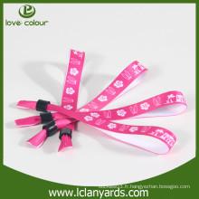 Bracelets de sublimation imprimés sur un seul côté sur mesure