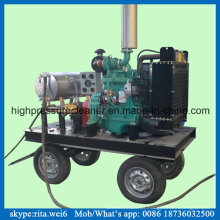 Ship Hull Paint Cleaning Machine Manufacturer Diesel High Pressure Water Blaster