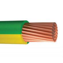 желтый/зеленый электрический провод кабель заземления провод заземления 1.5 2.5 4 6 10 12 14 1 6 мм2
