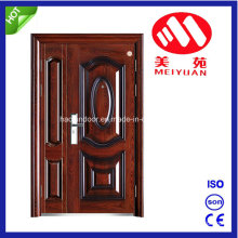 Steel Security Door, Cold Roll Steel Material Door, Double Door
