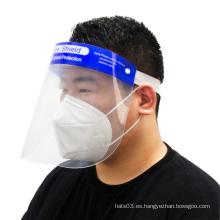 Máscara de seguridad antiniebla para visera