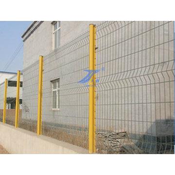Fabrik der Maschendrahtzaun mit Pfirsich Post (TS-L01)