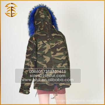 Chine Fabricant Service OEM Fox Winter Coat Fur Parka
