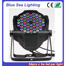 2015 hotsale 54pcs x 3w led par light