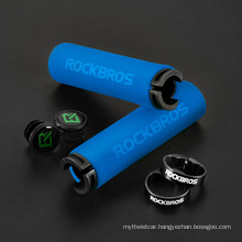 Bike Grips Bicycle Grips Ultralight Handlebar Grips Bicycle Locking Sponge Hand Grip Bicycle Goods Bike Accessories