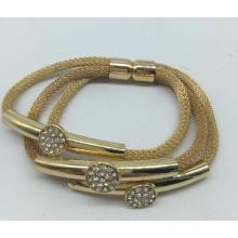 Copper Pipe Cord Magnet Bracelet (XJW13552)
