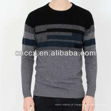 13STC5529 suéteres de lã de cashmere homens