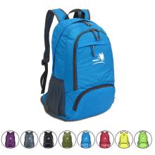 35L faltbare wasserdichte Nylon Outdoor Camping Sport Rucksack Tasche (YKY7285)