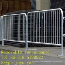 Panel de valla extraíble