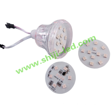 24v 60mm en plein air 18 pcs amusement dmx led module points lumières rgb ic ws2811 ucs1903 dj stand led pixel