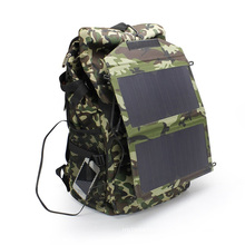 12W Outdoor Camping Waterproof Solar Panel Charger for Mobile Phone