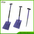 Emergency Aluminum Snow Shovel with Saw Blade