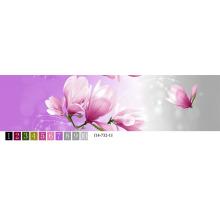 Changxing novo tecido de folha de cama de cor brilhante