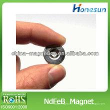 D10 * aimants de néodyme permanente de 5mm à tête fraisées