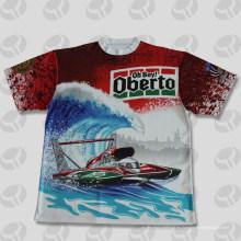 Camiseta orgánica del algodón del 100% tee shirts