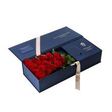 Boîte de fleur de cadeau de Noël personnalisé de haute qualité