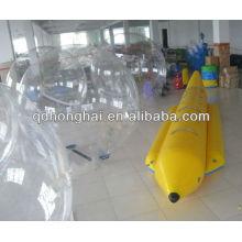 barco de plátano inflable de PVC de 6 personas para la venta