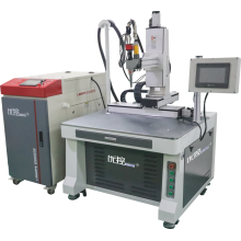 máquina de solda a laser a ponto