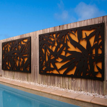 Laser Cut Outdoor Screen