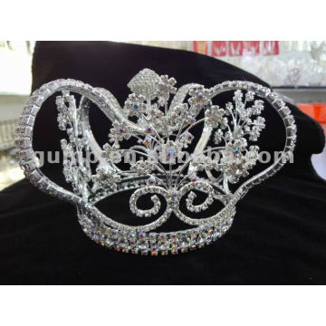 crystal full tiara