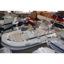 CE rigid RIB350 inflatable sports yacht boat