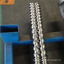 High quality SKD61 screw barrel for PVC extrusion machine bimetallic extruder