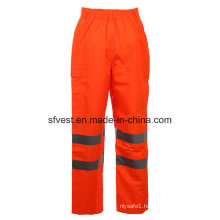 Class 2 Safety Oxford with PU High Visibility Reflective Safety Pants