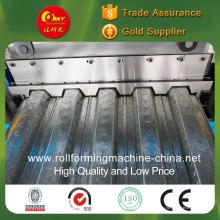 Профилегибочная машина для производства панелей для настила стального пола Автоматическая производственная линия