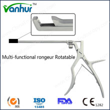 Instrumentos sinuscópicos Pinzas de Rongeur giratorias multifuncionales
