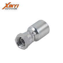 Good Quality JIC Male 74 cone seat one piece hydraulic hose fitting one piece fitting with ISO Certification