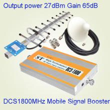 Leistungsstarke 75dB Verstärkung 1800MHz Band Signal Booster für große Abdeckung