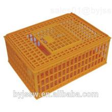 Jaula de pollo de plástico para transporte de jaula de pollo para pollo en vivo