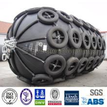 Neumático marino neumático de la cadena y del neumático a la venta