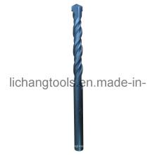 Foret à maçonnerie avec double flûte et finition noire
