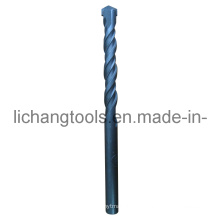 Masonry Drill Bit with Double Flute and Black Finish