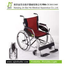 Easy Folding cadeira de rodas manual para idosos e deficientes