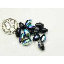 Perles ovales cristallisées