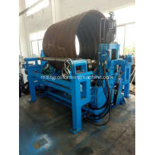 Pembungkusan Culvert Pipe Corrugated Panel Forming Machine