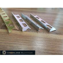 Bright Silver L Forma Tile Trim para 8mm, 10mm, 12mm Tile