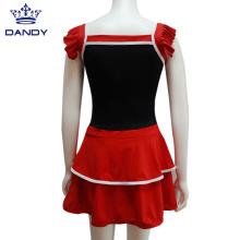 Vestido de animadora del equipo de trajes personalizados