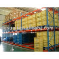 ISO warehouse self management storage freezing gravity racking