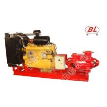Mehrstufige Hochdruck Figting Diesel Löschwasserpumpe
