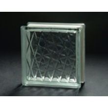 190*190*80mm Clear Meshy Glass Block with AS/NZS2208: 1996