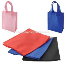 Sacola de compras de compras saco não tecido