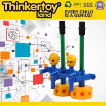 Le plus récent ABS Car Design Creative Colorful Building Blocks Children Toy