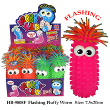 Divertido flashing fluffy globo juguete balón de juguete