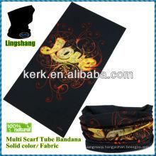 Wholesale Fabric Print Custom Tube Bandana tubular bandana tube bandana custom bandana fabric !LSB61