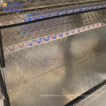 Venta al por mayor de aluminio caja de herramientas a prueba de agua personalizada oem Venta al por mayor de aluminio caja de herramientas a prueba de agua personalizada camión